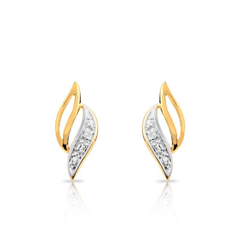 Boucles d'oreilles en or 750