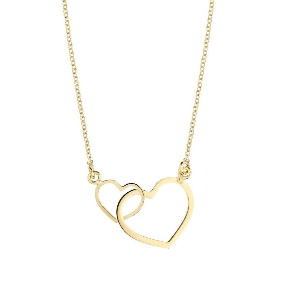 Collier pour femme avec coeur