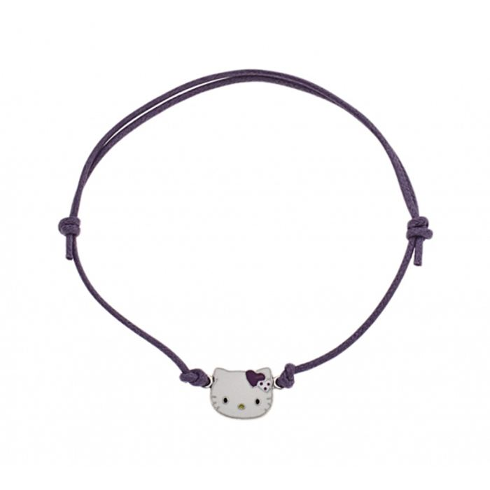 Bracelet Hello Kitty cordon