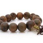 Bracelet perles de bois