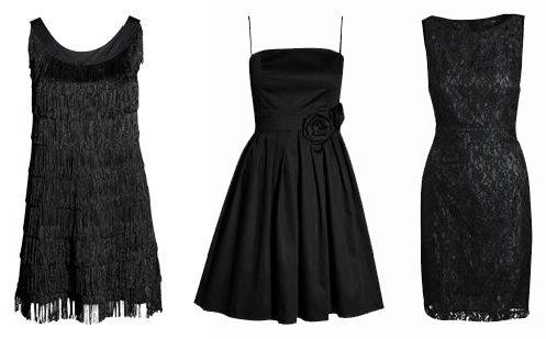 Quel bijou porter avec une robe noire ?
